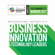 Australian Business Award in Sustainability 2017